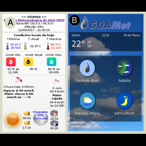 GOAMet-Android, versão beta